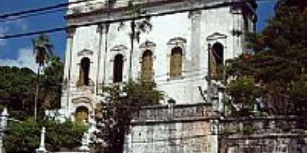Igreja da Santíssima Trindade dos Cativos na Av.Jequitáia,Água de Meninos,em Comércio-BA-Foto:Otavio Neves Cardoso