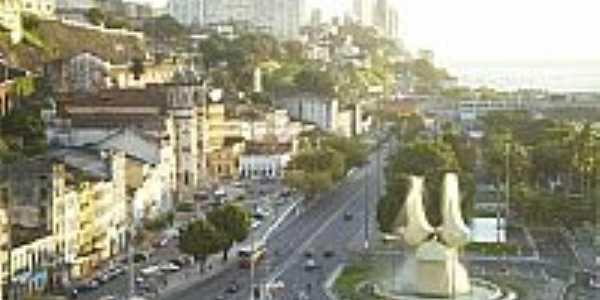 Vista do Bairro Comércio-BA-Foto:Wikipédia