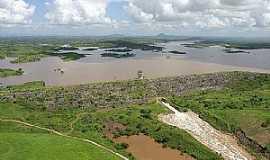 Lagoa do Carro - Vista aérea da Barragem de Lagoa do Carro - PE por raldney