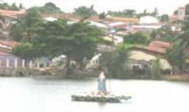 Lagoa do Carro - SANTA ENFEITANDO A LAGOA, Por ALCIDES ALVES CARNEIRO