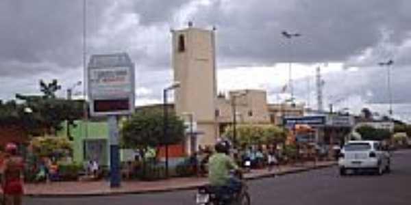 Praça São Sebastião-Foto:raldney