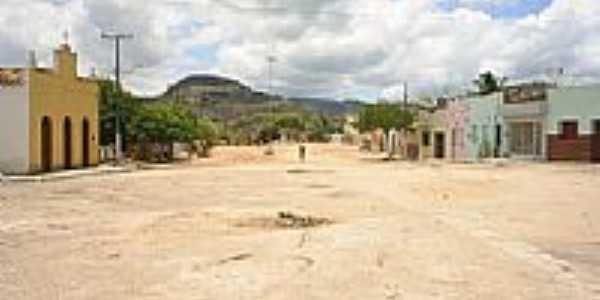 Rua na cidade de Lagoa do Souza-Foto:aristeu silva