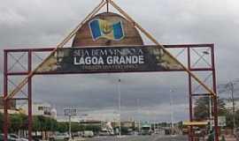 Lagoa Grande - Lagoa Grande-PE-Pórtico de entrada da cidade-Foto:didigalvao.