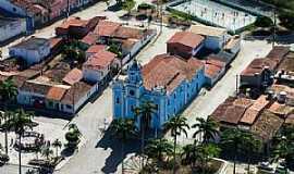 Conceição da Feira - Foto aérea da Praça da Bandeira.
