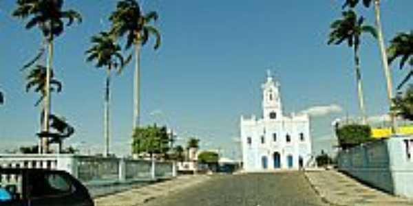 Conceição da Feira-BA-Praça e a Matriz de N.Sra.da Conceição-Foto:Caio Graco Machado