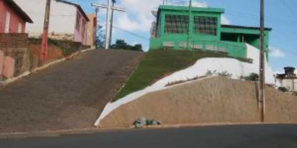 Barreira do Cruzeiro na entrada da cidade de Machados, Por Silvio Borba
