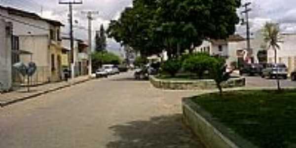 Conceição do Almeida-BA-Praça no centro da cidade-Foto:gervanioweb