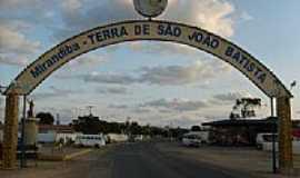 Mirandiba - Pórtico de entrada de Mirandiba-Foto:wadsoncantarelli