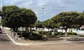 Mirandiba - Praça José da Silva Torres em Mirandiba-Foto:Sergio Falcetti