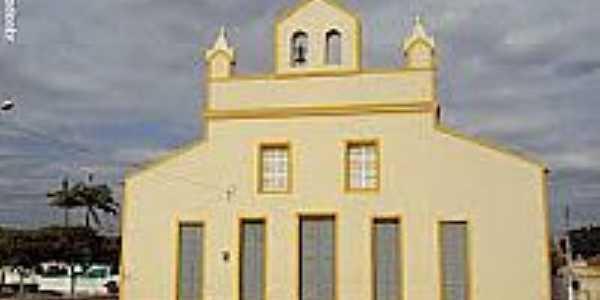 Igreja da Sagrada Família em Mirandiba-Foto:Sergio Falcetti