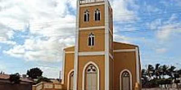 Igreja de São João Batista em Mirandiba-Foto:Sergio Falcetti