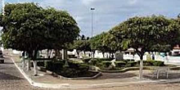 Praça José da Silva Torres em Mirandiba-Foto:Sergio Falcetti