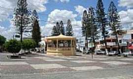 Concei��o do Coit� - Coreto na Pra�a Central em Concei��o do Coit�/BA-Foto:cerrado
