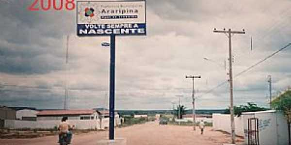 Imagens do Distrito de Nascente no Município de Araripina = PE