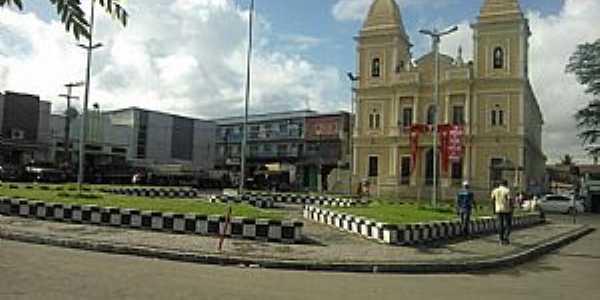 Praça da Catedral de Nazaré da Mata/PE