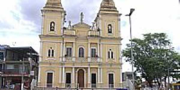 Igreja Matriz de Nazar� da Mata foto por Andr� Santiago