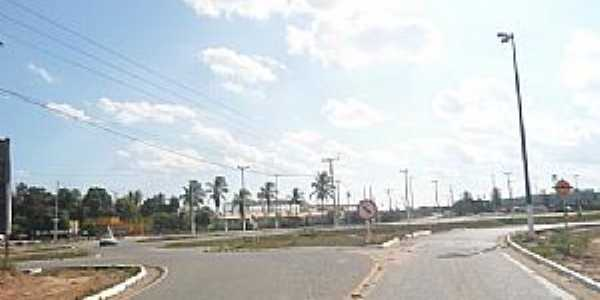 Concei��o do Jacu�pe-BA-Trevo de acesso-Foto:www.blogdetavares.com.br