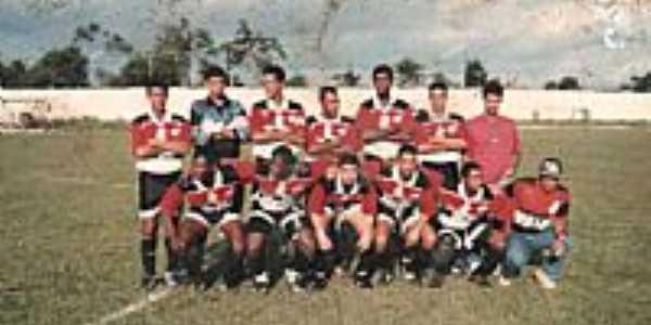 Esporte Club Famengo das Pindobas,em Berimbau, Concei��o do Jacu�pe-BA-Foto:jacuipenoticias.