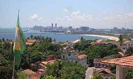 Olinda - Olinda-PE-Vista parcial e ao fundo Recife-Foto:Roberto Inojosa