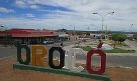 Orocó - Orocó-PE-Trevo de acesso-Foto:Jairo Freire