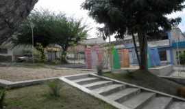 Panelas - Praça ao lado da Igreja, Por Gilzete Galvão