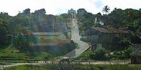 Paquevira-PE-Subida para a Igreja-Foto:Marcus Vinicius P. Oliveira