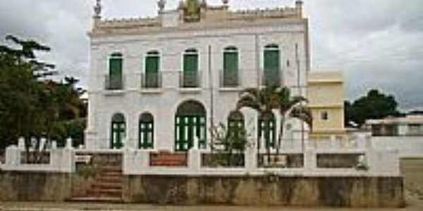Pa�o Municipal atual de Conde�ba-Foto:Jo�o Gagu