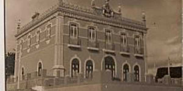 Paço Municipal em 1966 de Condeúba-Foto:João Gagu