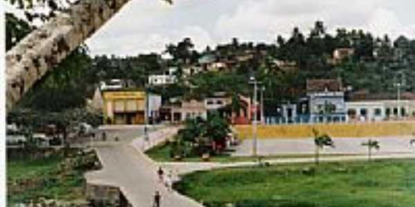 Praça e vista parcial da cidade-Foto:ivmedeiros