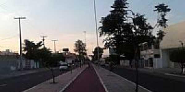 Avenida da Integração em Petrolina-PE-Foto:Jorge Hirata