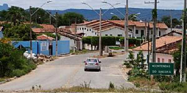 Contendas do Sincorá-BA-Entrada da cidade-Foto:www.brumadoagora.com.br