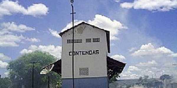 Contendas do Sincorá-BA-Estação Ferroviária-Foto:Wellington Almeida