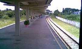 Ponte dos Carvalhos - Estação de trem de Ponte dos Carvalhos  , por malungo