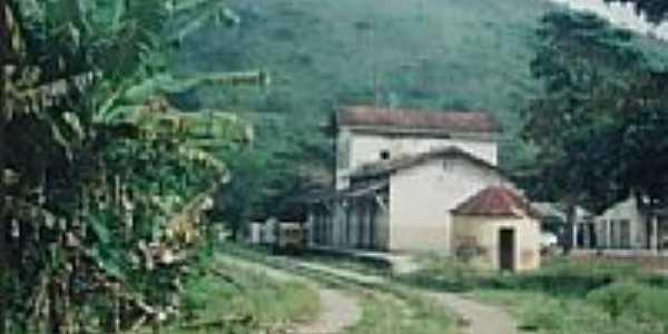 Estação Ferroviária em 2007 de Quipapá-PE-Foto:Claudio Vitoriano