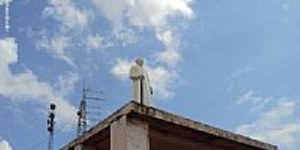 Imagem em homenagem ao Padre Cícero em Quipapá-PE-Foto:Sergio Falcetti