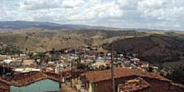 Vista parcial da cidade e regi�o de Quipap�-PE-Foto:Sergio Falcetti