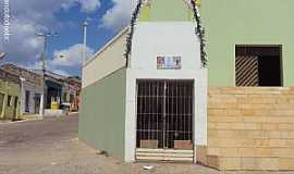 Quixabá - Quixabá-PE-Gruta na Matriz de São Sebastião-Foto:Sergio Falcetti