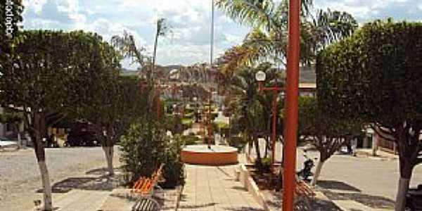 Quixabá-PE-Praça da Matriz-Foto:Sergio Falcetti