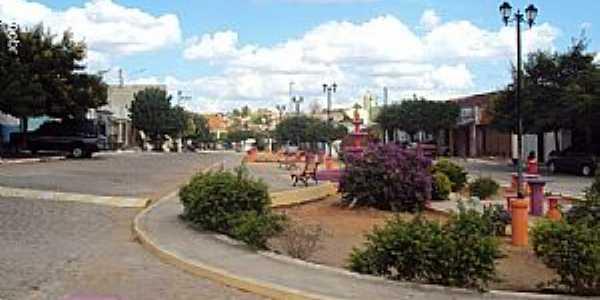 Quixabá-PE-Praça N.Sra.das Graças-Foto:Sergio Falcetti