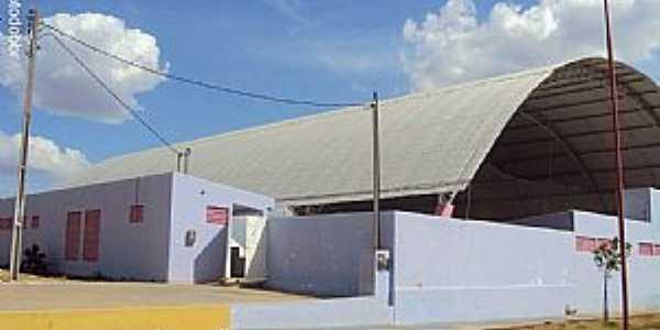 Quixabá-PE-Quadra Poliesportiva-Foto:Sergio Falcetti