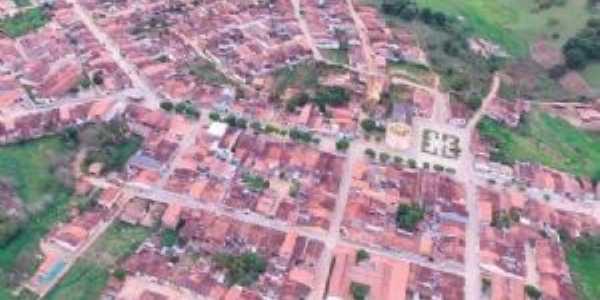 imagem aérea do distrito, Por Maria Eduarda
