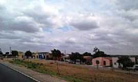 Rajada - Avenida e Rodovia em Rajada-Foto:Jorge Hirata