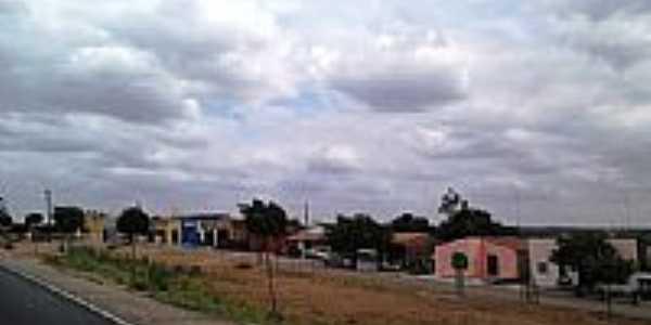 Avenida e Rodovia em Rajada-Foto:Jorge Hirata