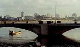 Recife - Ponte Agamenon Magalhães em Recife-PE-Foto:André Bonacin