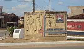 Riacho das Almas - Riacho das Almas-PE-Monumento na entrada da cidade-Foto:Sergio Falcetti