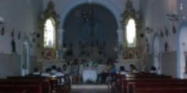 interior da Igreja em Coqueiros, Por GUTEMBERG SUZARTE DE OLIVEIRA