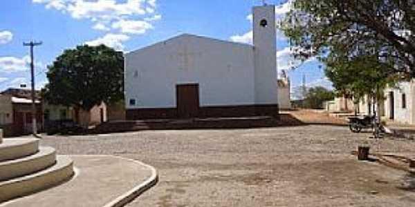 Riacho Pequeno-PE-Igreja Católica-Foto:www.sertaovip.com.br