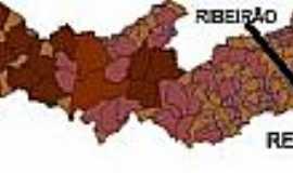 Ribeirão - Mapa de Localização - Ribeirão-PE