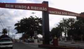 Ribeirão - Entrada da cidade, Por Lúcia