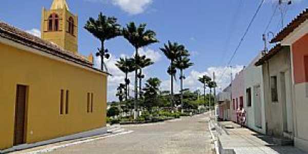 Praça Central - por Elio Rocha